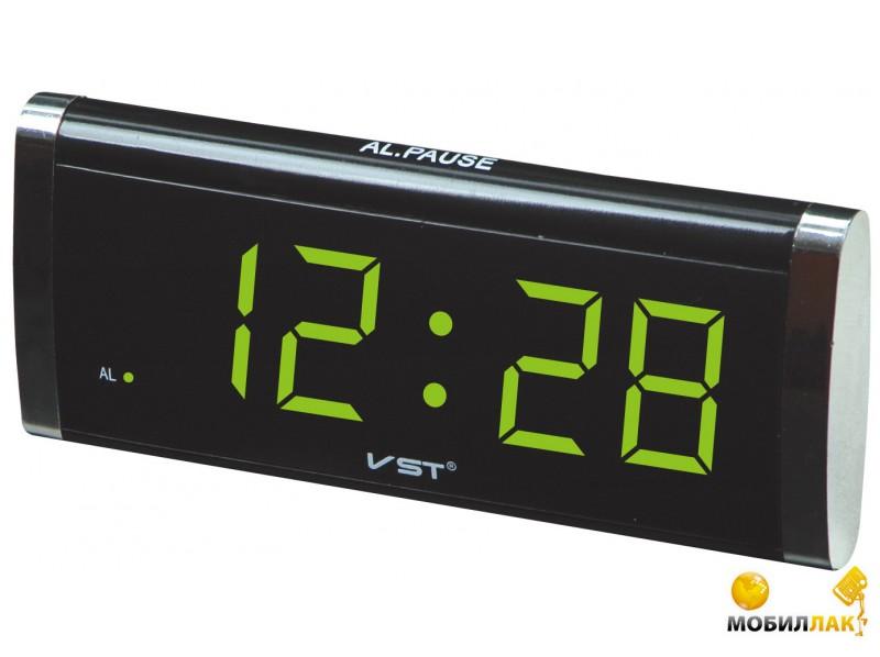 VST Часы сетевые 730-4 салатовый (1049) VST