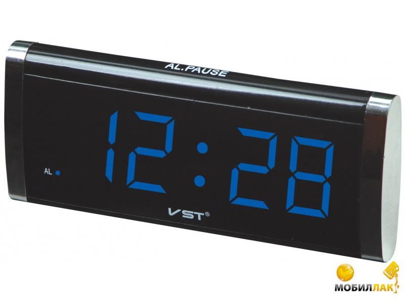 VST Часы сетевые 730-5 синий (1050) VST