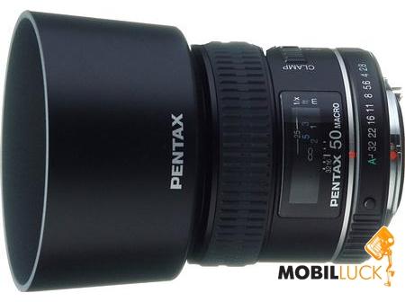 Pentax SMC D FA Macro 50mm f/ 2.8 MobilLuck.com.ua 6820.000