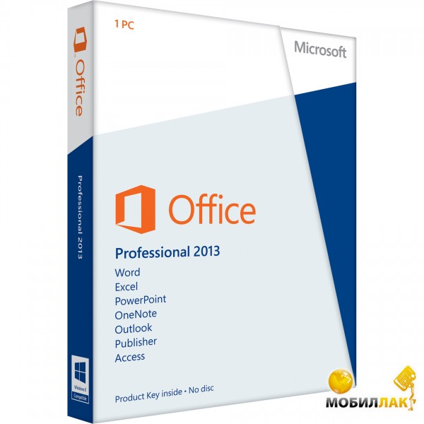 Microsoft Office Pro 2013 32/ 64 English DVD BOX (269-16119) MobilLuck.com.ua 6640.000