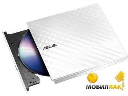 Asus USB 2.0 SDRW-08D2S-U LITE/WHT/G/AS (90-DQ0436-UA221KZ) MobilLuck.com.ua 558.000
