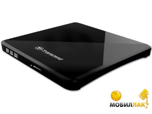 Transcend DVD+/-RW Ultra Slim Black (TS8XDVDS-K) MobilLuck.com.ua 515.000