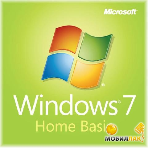 Microsoft Windows 7 SP1 Home Basic 32-bit Russian CIS-Georgia 1pk OEM (F2C-01530) MobilLuck.com.ua 1399.000
