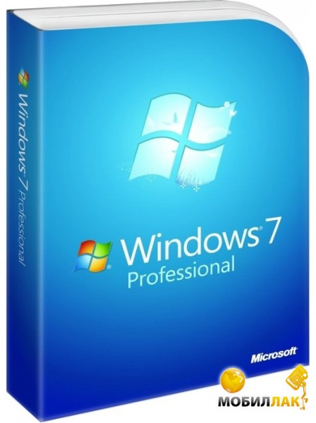 Microsoft Windows 7 SP1 Professional 64-bit Ukrainian ОЕМ DVD на 1 ПК (FQC-04674) MobilLuck.com.ua 2499.000