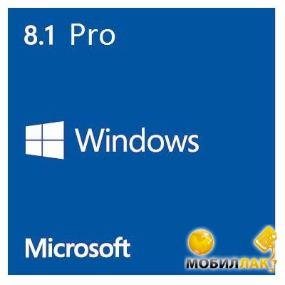 Microsoft Windows 8.1 Professional 64-bit English 1 License 1pk OEM (FQC-06949) MobilLuck.com.ua 2499.000