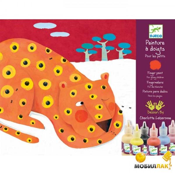 Djeco Художественный комплект Пальчиковые краски MobilLuck.com.ua 269.000