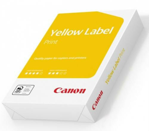 Бумага офисная Canon Yellow Label А4 500 л 80г/м класс С Mondi (POF-CAN-80A4)
