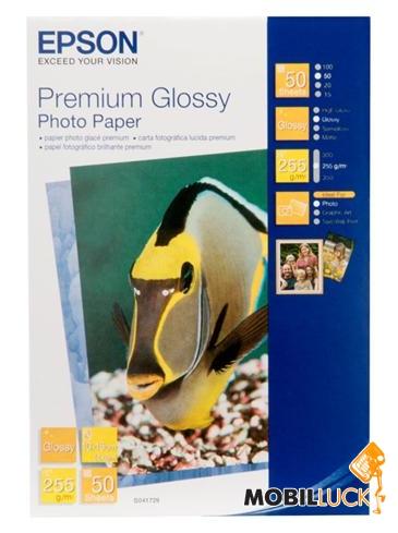 Epson A4 Premium Glossy Photo Paper, 20л. (C13S041287) MobilLuck.com.ua 215.000