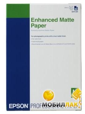 Epson Enhanced Matte Paper A3+ 192 г/м2 (C13S041719) MobilLuck.com.ua 718.000