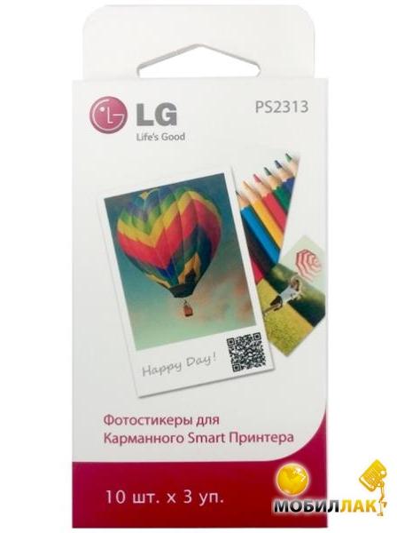 LG фотопринтера 2х3 дюйма, 30 л (PS2313) MobilLuck.com.ua 139.000