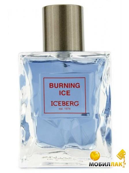 Туалетная вода Iceberg Burning Ice men 50ml edt