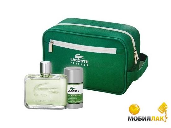 Купить Набор Lacoste Esential (Edt+Stick+Bag) for man 125+75+1 ml. Цена 10403e3dbb467