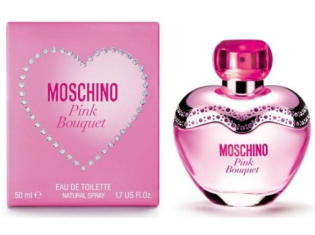 Туалетная вода Moschino Pink Bouquet 50мл for women