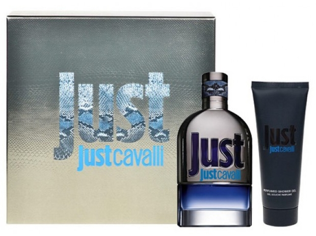 Набор Roberto Cavalli Just Cavalli Set men edt 90ml и s/g 75ml