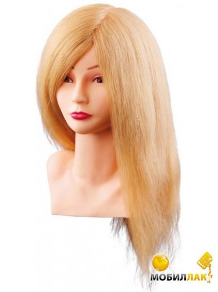 Учебная голова натуральные волосы блондинка
