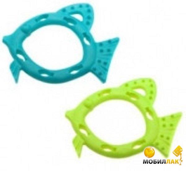 aquael Aquael Игрушка Comfy рыбка-кормушка Snacky 16см бирюзовая