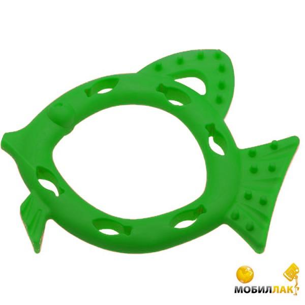aquael Aquael Игрушка Comfy рыбка-кормушка Snacky 16см зеленая
