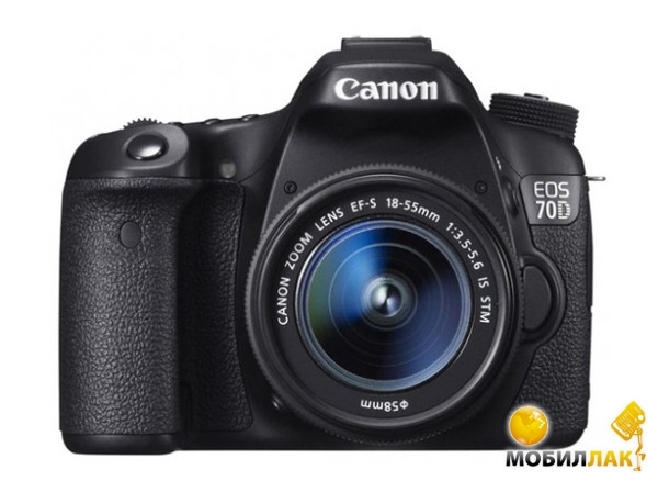 Canon EOS 70D 18-55 IS STM c Wi-Fi Canon
