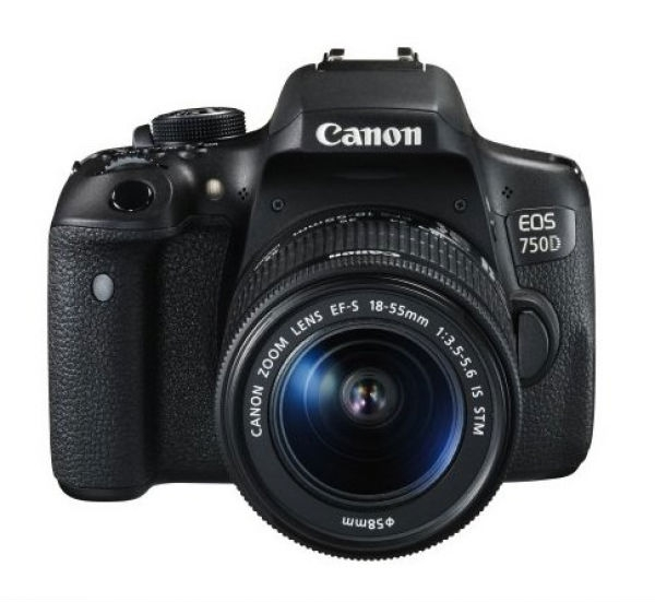 Фотоаппарат Canon EOS 750D Kit 18-55 IS STM (0592C027AA)
