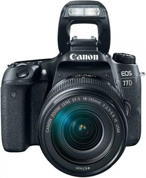 Canon EOS 77D 18-135 IS nano USM KIT Canon