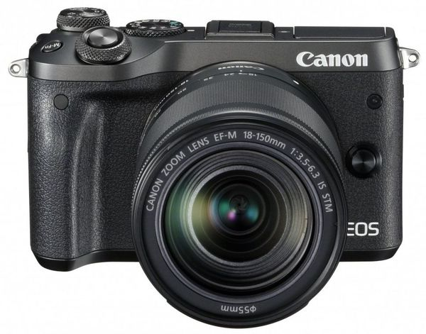 Canon EOS M6 18-150 IS STM Black Canon