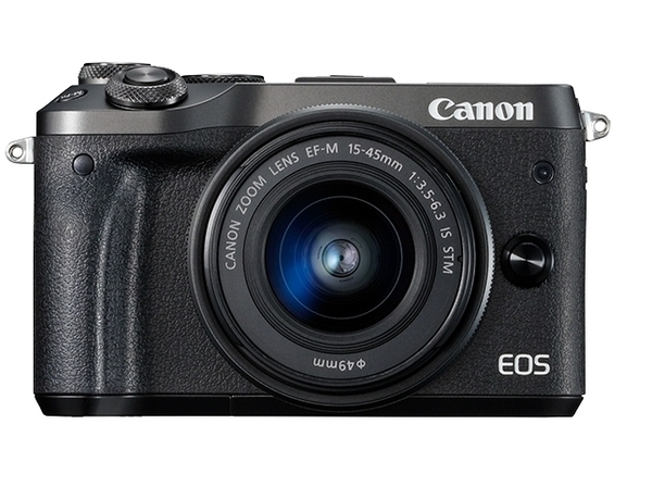 Canon EOS M6 Kit (15-45 IS STM) Black Canon