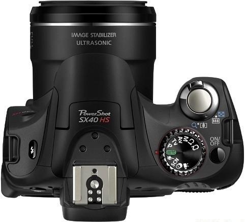 Canon PowerShot SX40 HS.