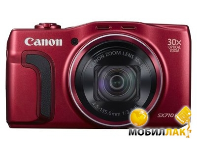 Canon PowerShot SX710HS Red (0110C012AA) Canon