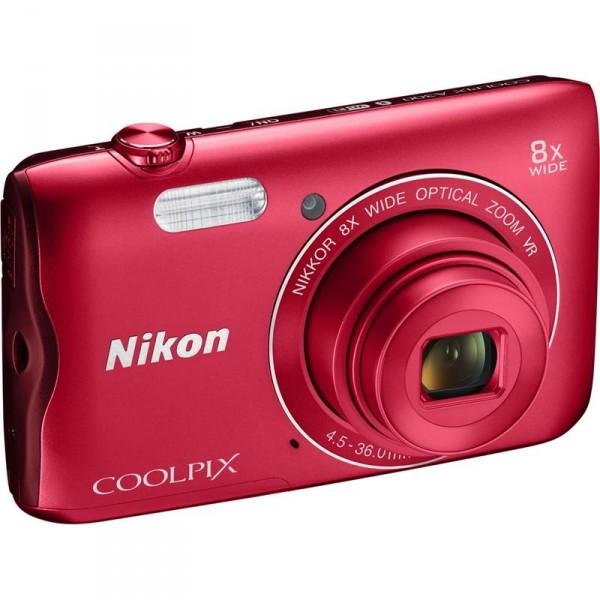 Nikon Coolpix A300 (VNA963E1) Red Nikon