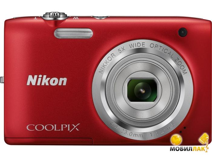 Nikon Coolpix S2800 Red MobilLuck.com.ua 1574.000