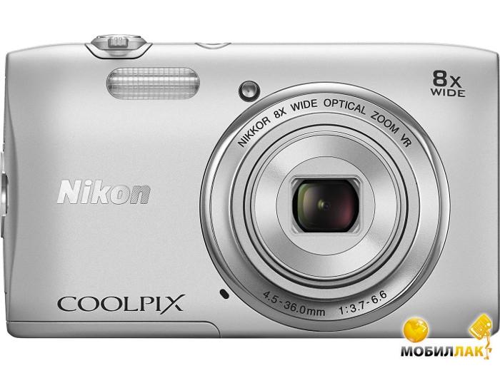 Nikon Coolpix S3600 Silver MobilLuck.com.ua 2099.000