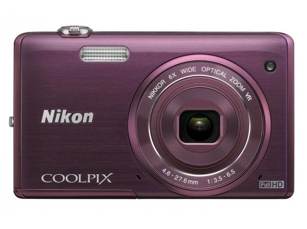 Фотоаппарат Nikon Coolpix S5200 Plum