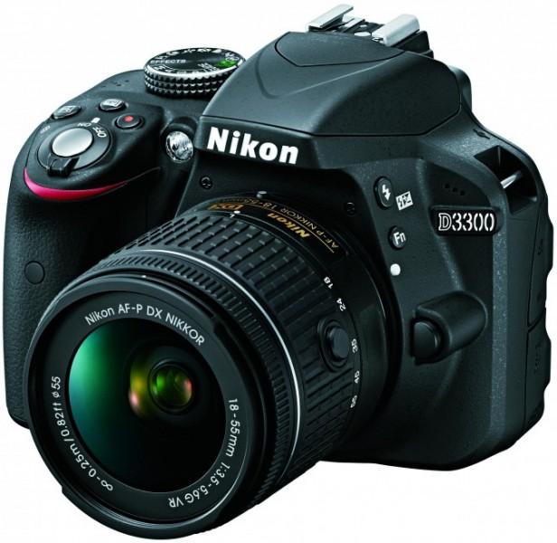 Nikon D3300 плюс AF-P 18-55VR Kit (VBA390K008) Nikon