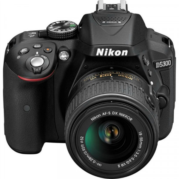 Nikon D5300 Plus AF-P 18-55 Non-VR Kit (VBA370K016) Nikon