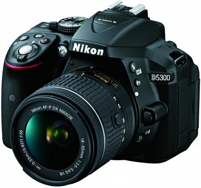 Nikon D5300 плюс AF-P 18-55VR kit (VBA370K007) Nikon