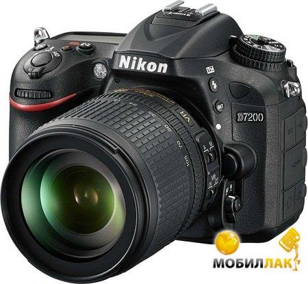 Nikon D7200 + 18-105mm Nikon