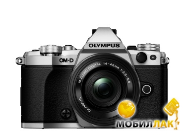 Olympus E-M5 mark II Pancake Zoom 14-42 Kit серебристый Olympus