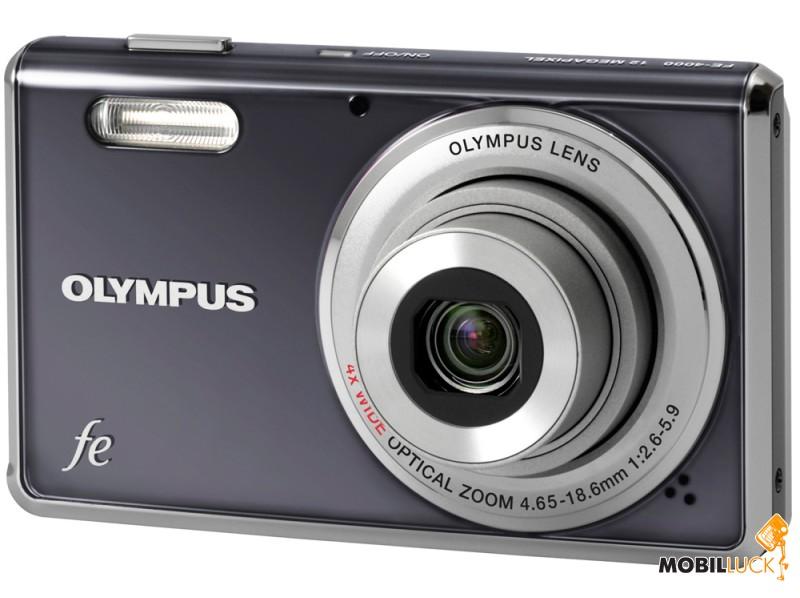 Фотоаппарат Olympus FE-4000 Dark Grey
