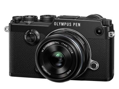 Olympus PEN-F 17mm Kit Black/Black Olympus