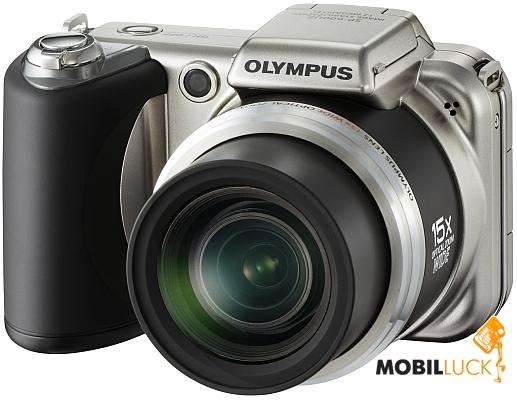 Фотоаппарат Olympus SP-600 UltraZoom Titanium Silver