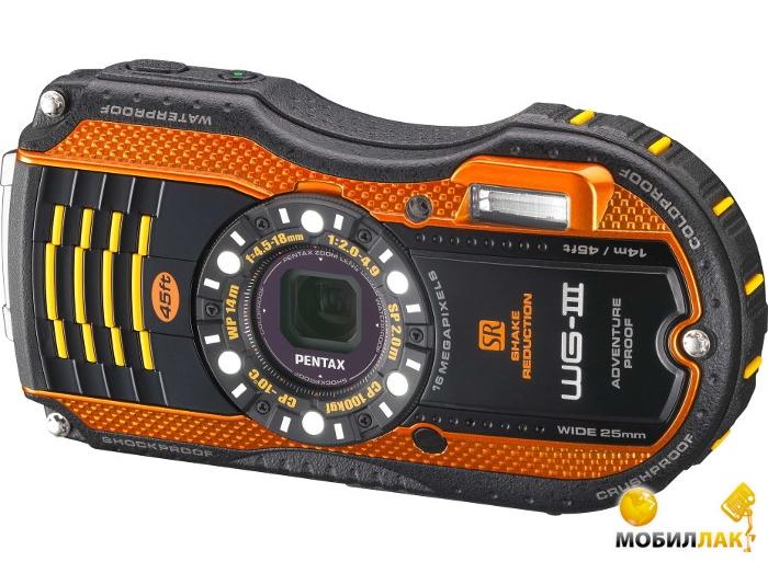 Pentax Optio WG-3 Orange MobilLuck.com.ua 3905.000