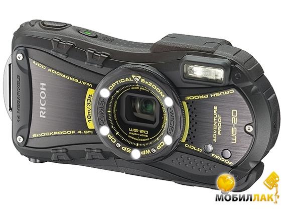 Ricoh WG-20 Black MobilLuck.com.ua 3273.000