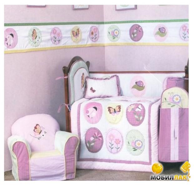 Arya Плед для детской кроватки Cy 969 Garden Arya