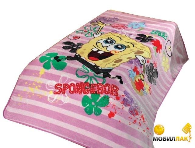 Mink Sponge Bob 06 160X220 розовый (3333150001816) MobilLuck.com.ua 836.000