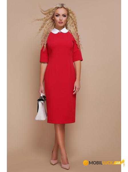 43c8488db70 Видеообзор и фото Платье Irmana Ундина 3 4 р. M Красный. Купить ...