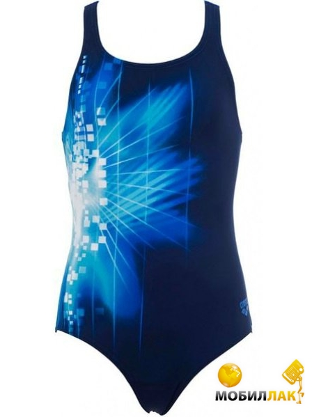 48e4d960202cf Купальник детский Arena Pixel youth one piece navy/pix blue (6 ...