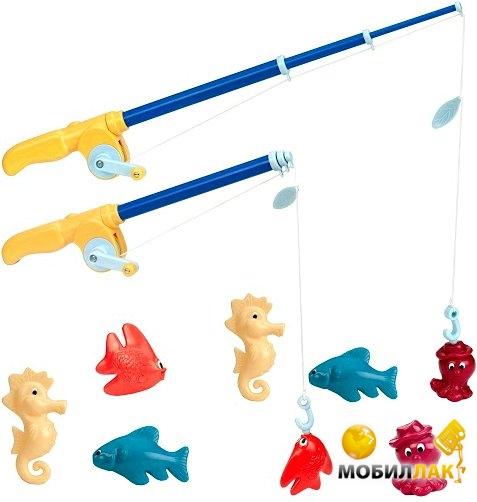 Battat Магнитная Рыбалка Делюкс (2 удочки, 8 морских животных) (BT2433Z) Battat
