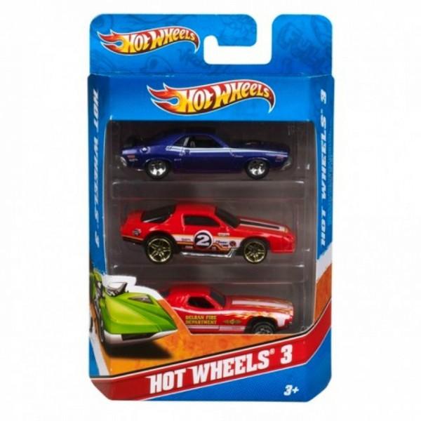 Игровой набор Mattel Подарочный набор из 3 автомобилей (K5904)