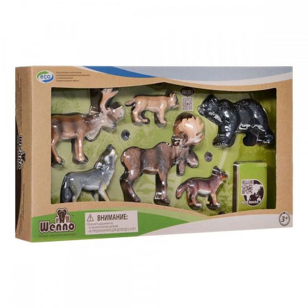 Wenno Животные Европы с QR-картой (WEU1704) Wenno