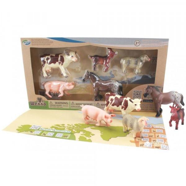 Wenno Животные Ферма S2 с QR-картой (WEU1706) Wenno